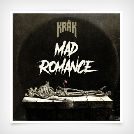 KRÄK - Mad Romance Vinylrecord cover